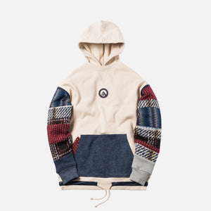 Kith Patchwork Williams Hoodie - Off White