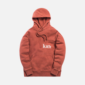 Kith Pocket Williams Hoodie - Clay