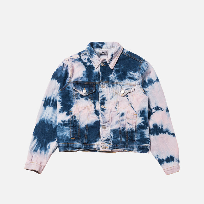 Ashley Williams Western Jacket - Tie Dye