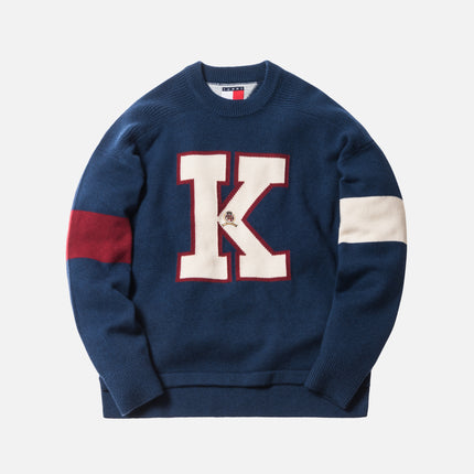 "Kith x Tommy Hilfiger ""K"" Sweater - Navy"