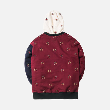 Kith x Tommy Hilfiger Full Embroidered Crest Hoodie - Multi