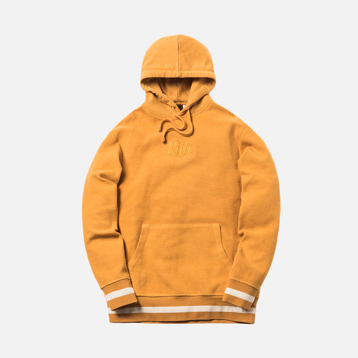 Kith Reverse Williams Hoodie - Golden Yellow