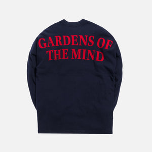 Kith Gardens of the Mind L/S Tee - Navy