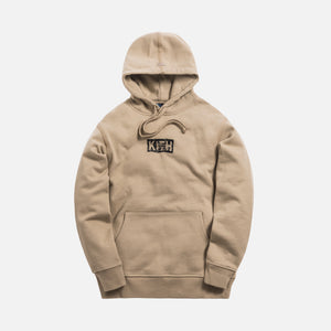 Kith Splintered Logo Hoodie - Feather Grey