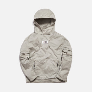 Kith Convertible Double Pocket Hoodie - Cement