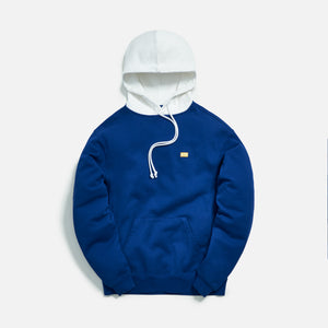 Kith Williams III Contrast Hoodie - Mazarine Blue Image 1
