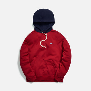 Kith Williams III Contrast Hoodie - Chili Pepper Image 1