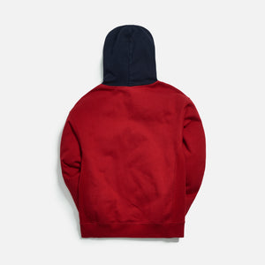 Kith Williams III Contrast Hoodie - Chili Pepper Image 2