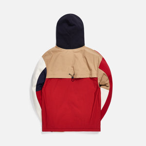 Kith Quilted Colorblock Hoodie - Tan / Multi Image 2