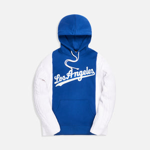 Kith for Major League Baseball Los Angeles Dodgers Combo Hoodie - Royal Blue