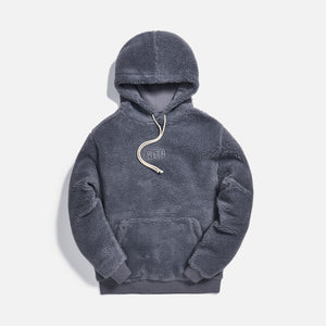 Kith Sherpa Classic Logo Hoodie - Monument Image 1