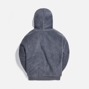 Kith Sherpa Classic Logo Hoodie - Monument