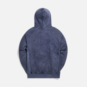 Kith Williams III Crystal Wash Fleece Hoodie - Obsidian / Navy Image 2