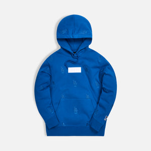 Kith for Major League Baseball Los Angeles Dodgers Monogram Hoodie - Royal Blue