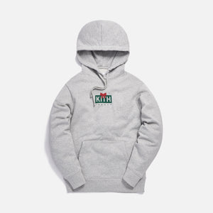 Kith Treats Gift Classic Logo Hoodie - Heather Grey