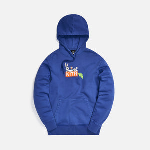 Kith x Looney Tunes Carrot Hoodie - Blue