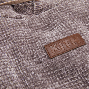 Kith Hayes Chenille Hoodie - Driftwood Image 3