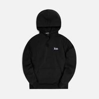 Kith Compact Knit Williams III Hoodie - Black Thumbnail 1