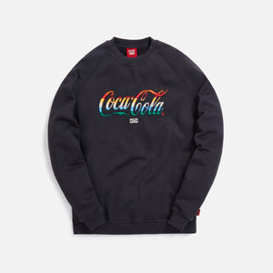 Kith x Coca-Cola Striped Crewneck - Black