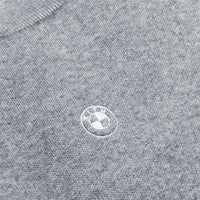 Kith for BMW Knit Mockneck - Heather Grey Thumbnail 4