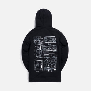 Kith Treats Architect Hoodie - Black Image 2