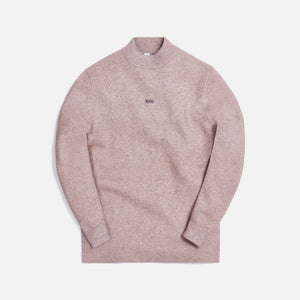 Kith L/S Mock Neck - Heather Oatmeal