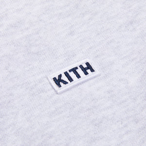 Kith Carlisle Mockneck Sweatshirt - Light Heather Grey Image 3