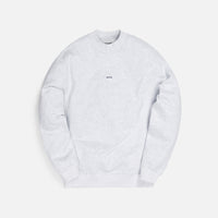 Kith Carlisle Mockneck Sweatshirt - Light Heather Grey Thumbnail 1