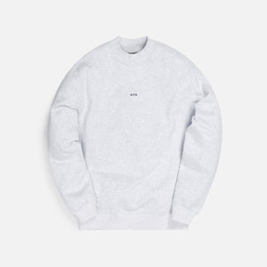 Kith Carlisle Mockneck Sweatshirt - Light Heather Grey Image 1