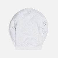 Kith Carlisle Mockneck Sweatshirt - Light Heather Grey Thumbnail 2