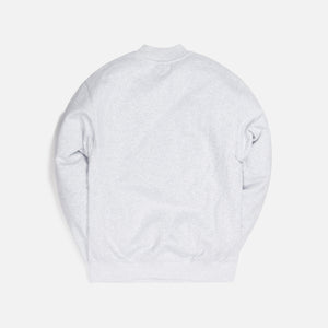 Kith Carlisle Mockneck Sweatshirt - Light Heather Grey