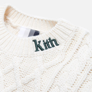 Kith Gramercy Cable Mock Neck - Ivory