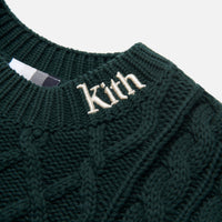 Kith Gramercy Cable Mock Neck - Scarab Thumbnail 5