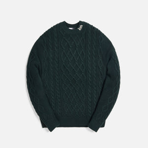 Kith Gramercy Cable Mock Neck - Scarab