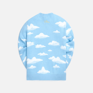Kith for The Simpsons Cloud Intarsia Sweater - Blue