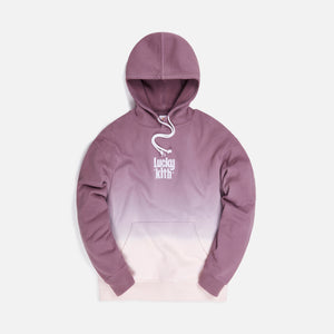 Kith for Lucky Charms Dip Dye Williams III Hoodie - Purple / Pink Image 1
