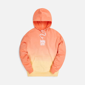 Kith for Lucky Charms Dip Dye Williams III Hoodie - Orange / Yellow
