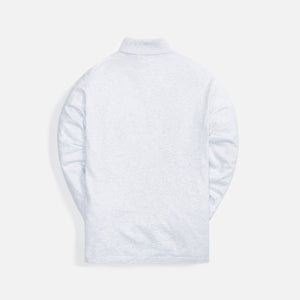 Kith Cortlandt Turtleneck - Light Heather Grey