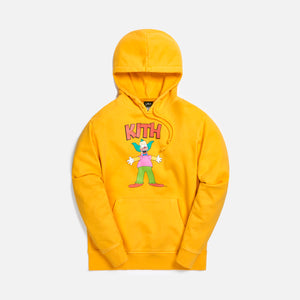 Kith for The Simpsons Krusty Hoodie - Yellow