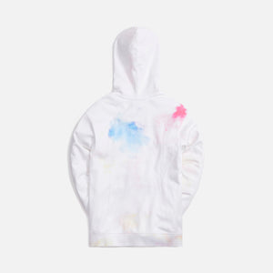 Kith Tie Dye Williams III Hoodie - White / Red