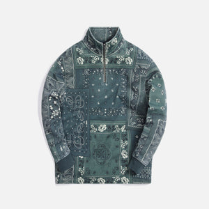 Kith Deconstructed Bandana Quarter Zip - Stadium