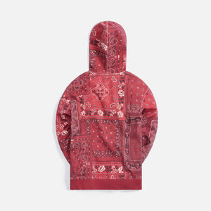 Kith Deconstructed Bandana Williams III Hoodie - Pyre