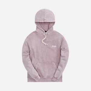 Kith Overdyed Heather Williams III Hoodie - Dusty Mauve