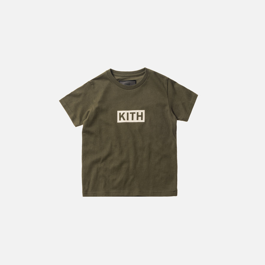 Kidset Classic Logo Tee - Olive