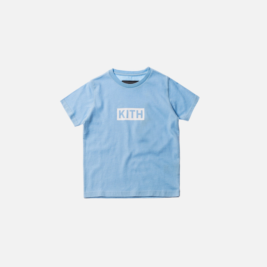 Kidset Classic Logo Tee - Baby Blue