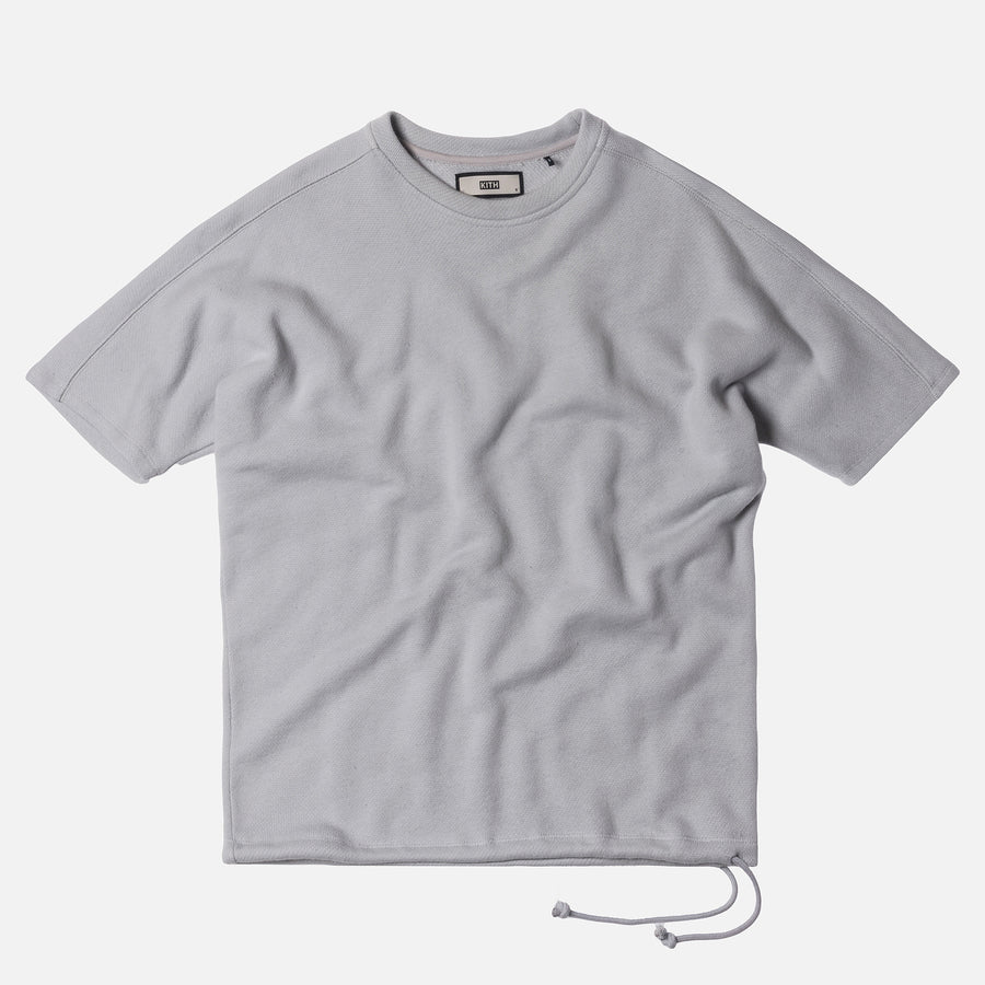 Kith Alton Terry Tee - Light Grey
