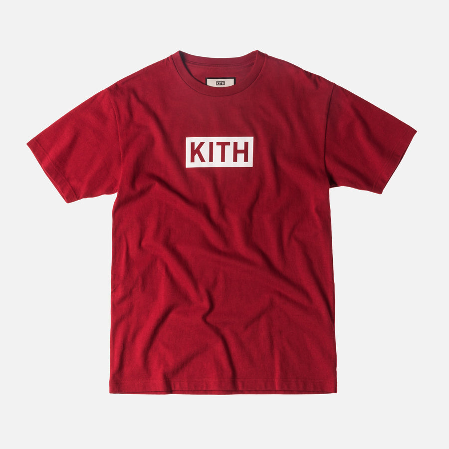 Kith Classic Logo Tee - Red