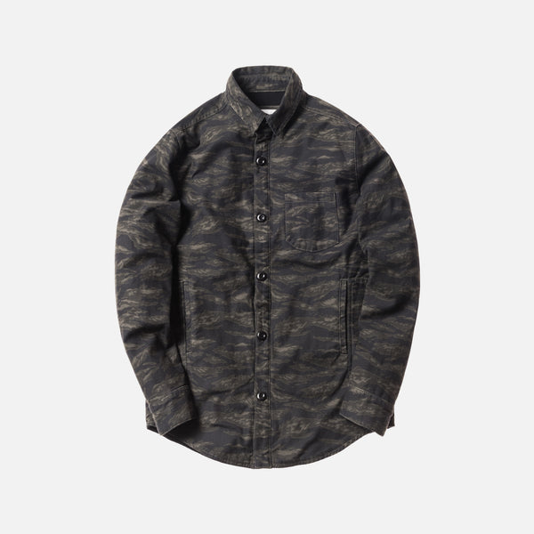 Kith Fatigue Ginza Button-Up - Tiger Camo