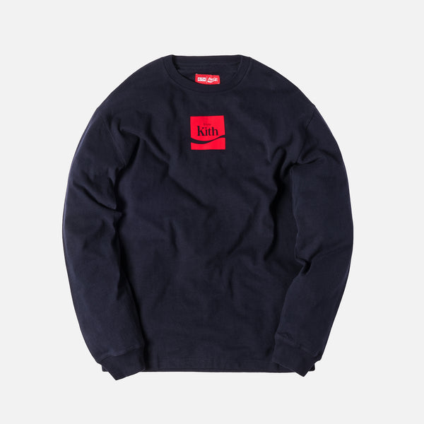 Kith x Coca-Cola Enjoy L/S Tee - Navy