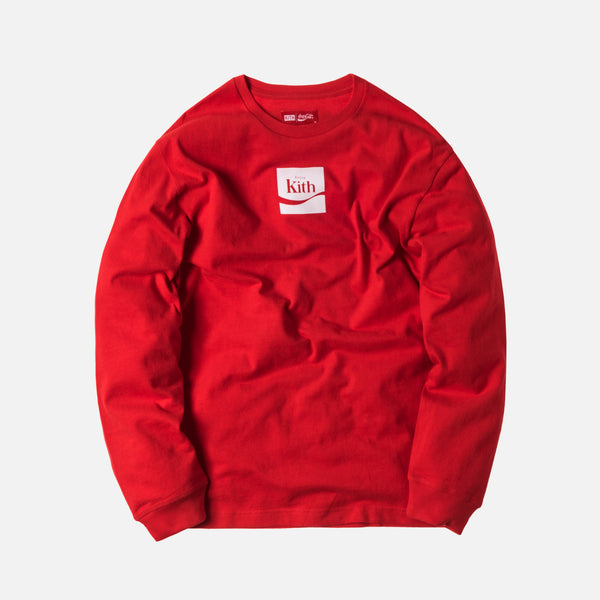 Kith x Coca-Cola Enjoy L/S Tee - Red